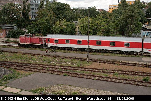 db autozug 346 995 4 im dient bei der fa talgo berlin warschauer str. Black Bedroom Furniture Sets. Home Design Ideas